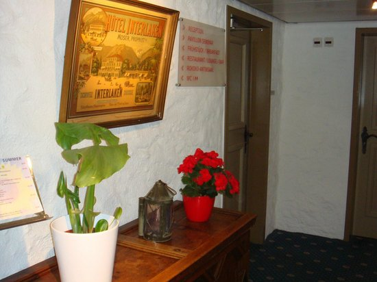 Hotel Interlaken: Коридор 2 этажа