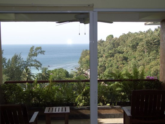 The Aspasia Phuket: view from inside my room