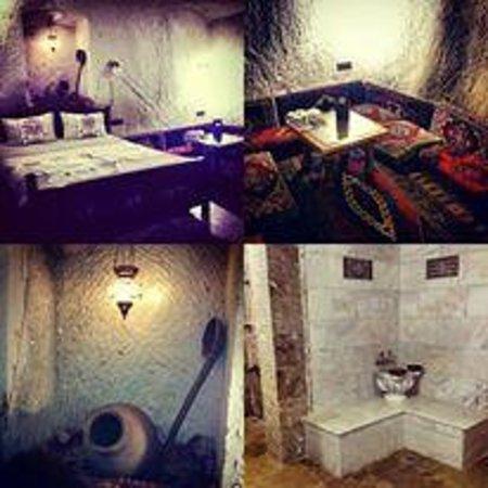 Vineyard Cave Hotel: Love the room with hamman bath