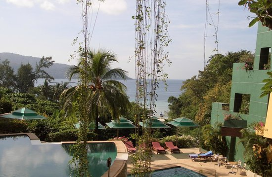 The Aspasia Phuket: view from restaurant