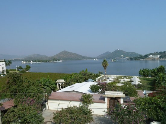 Ram Pratap Palace: View from the roof terasse