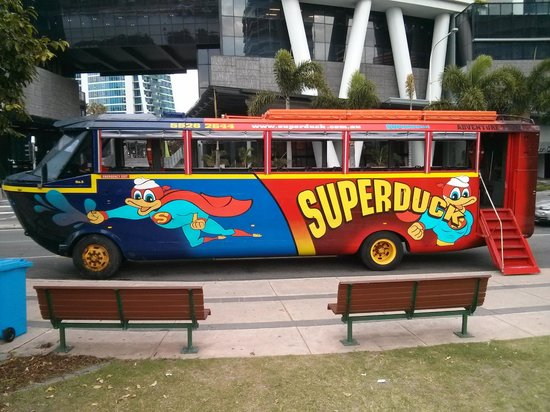 Mantra Crown Towers : Super Duck Tour