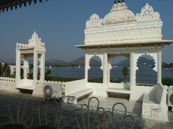 Ram Pratap Palace: Roof Terasse