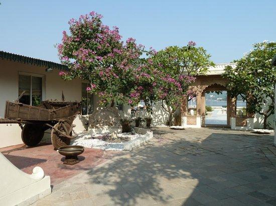 Ram Pratap Palace: Outside area