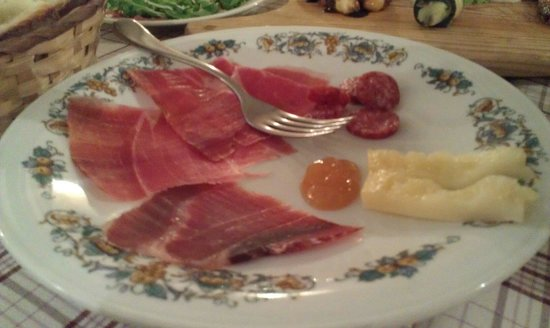 Cantina Colonna: Antipasti