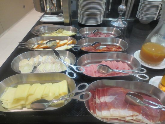 Eurostars Lisboa Parque: Great breakfast