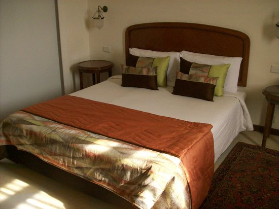 The Gateway Hotel, Agra: Nice Comfortable bed