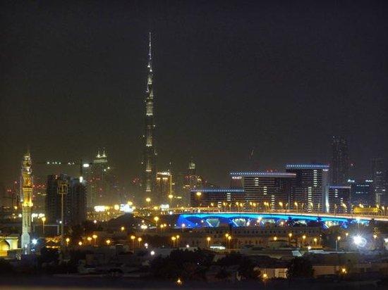 Premier Inn Dubai International Airport Hotel: View from rooftop pool