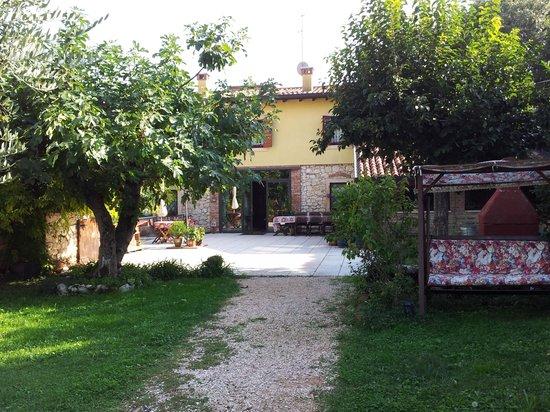 La Camaldola B&B: Blick auf die Veranda