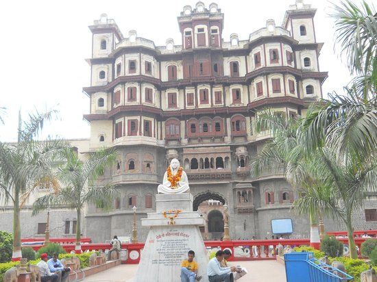 Rajwada Indore: Outside view of Rajwada, Indore