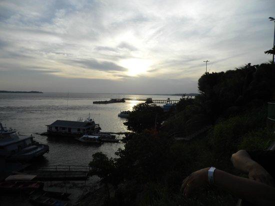 Amazon River : Pôr do sol
