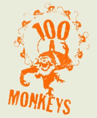 Hundred Monkeys: logo