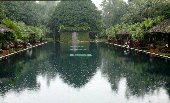Pilgrimage Village: The biggest pool