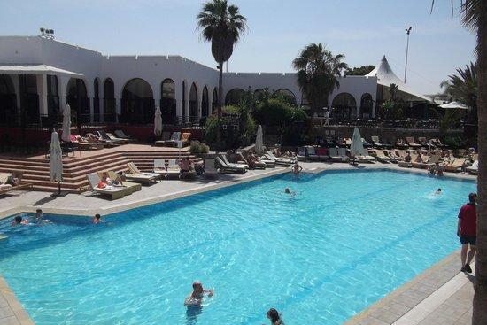 Club Med Agadir : la piscine chauffée en hiver
