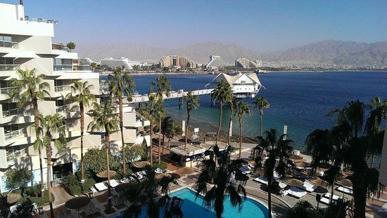 U Suites Eilat : A room with a view!