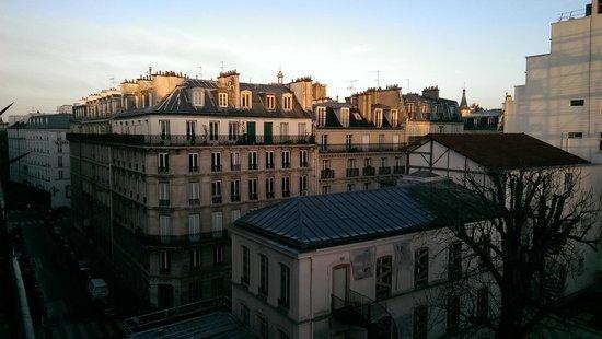 Hotel Marignan: Ausblick vom Balkon