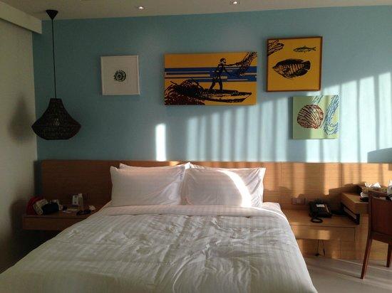 Holiday Inn Resort Krabi Ao Nang Beach : Family room bed