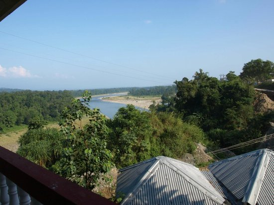 View From Balcony Picture Of Hotel Mandal Ghang Bhalukpong