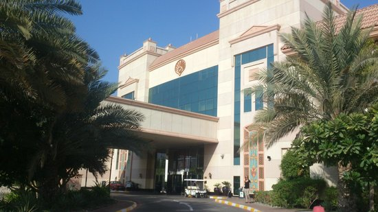 Al Raha Beach Hotel: Entrance