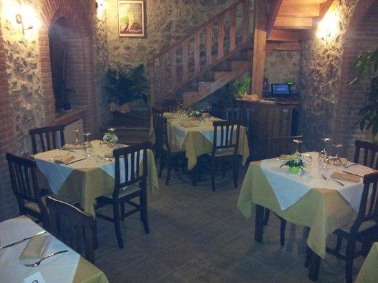 Monte San Biagio, Italia: risorante le scalelle