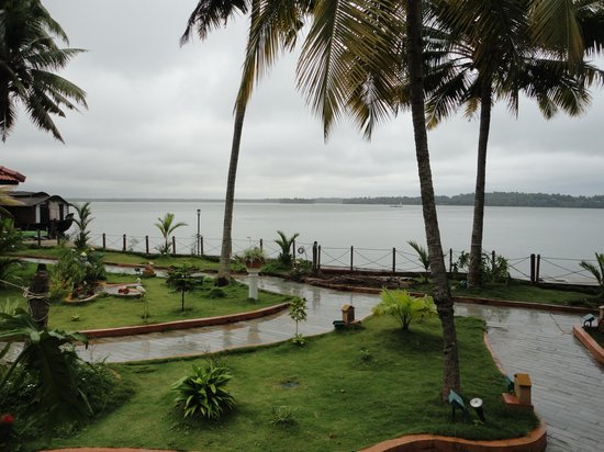 Cambay Palm Lagoon: View from My Cottege
