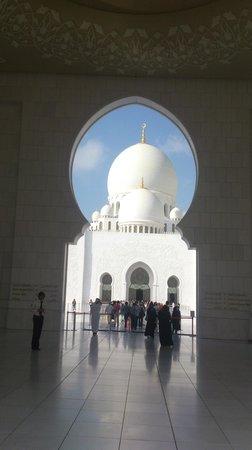 Mosquée Cheikh Zayed : Schejk Zayed-moskén
