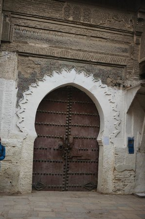 Fes el-Bali : Beautiful door