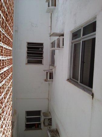 Pousada Porto Fino 2: Vista da janela do quarto