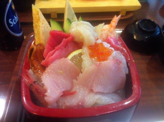 Yabase : 上ちらし寿司