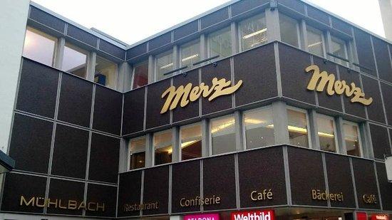Café Merz Bahnhofstrasse