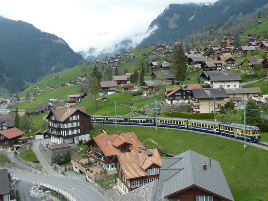 Belvedere Swiss Quality Hotel: 部屋からの眺め