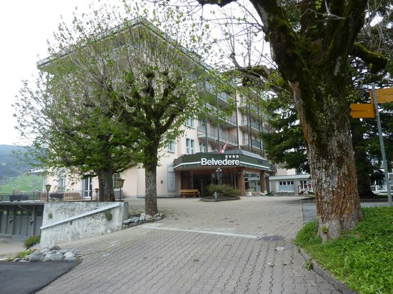 Belvedere Swiss Quality Hotel: 外観