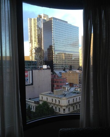 The Swanston Hotel, Grand Mercure : City view from room
