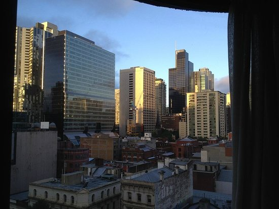 The Swanston Hotel, Grand Mercure: City view from room