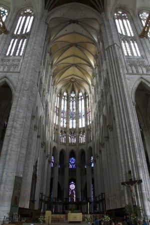 Beauvais Cathedral: Le plus haut choeur gothique du monde, difficile à capter, même avec un grand angle