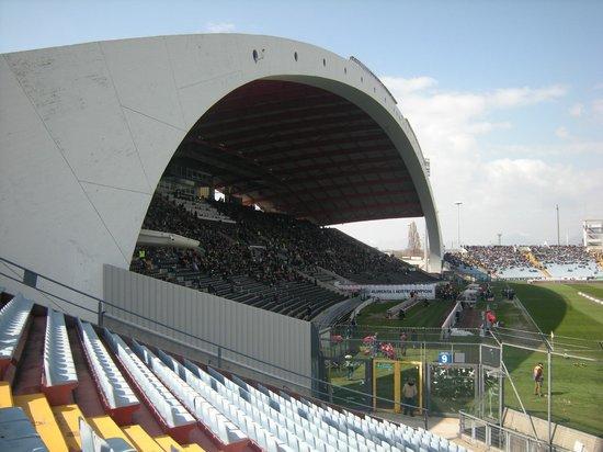 Stadio Friuli (Dacia Arena): tribuna coperta