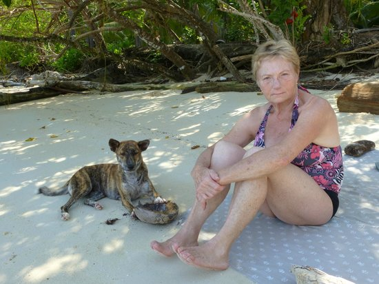 Sifa Cottage - Waleakodi : Besuch am Strand