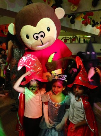 Funky Monkeys Play Center - Lower Parel : Funky Monkeys Halloween Party