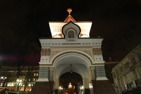 Nikolai's Triumphal Arch/ Arch of Prince Nicholas: Арка цесаревича Николая