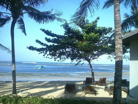 The Bali Khama Beach Resort & Spa : hotel pvt beach