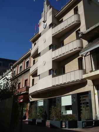 Don Boutique Hotel: Vue de l'hôtel depuis le Museo del Carnaval