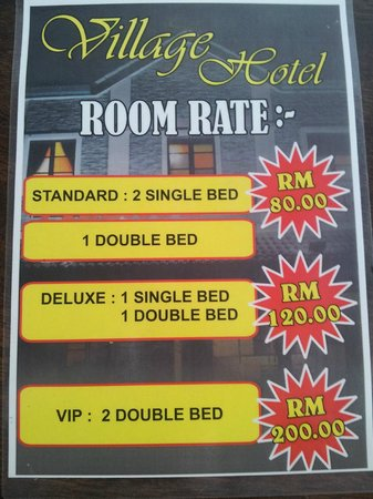 Room Rate Worth For Price Picture Of Village Hotel Baling Tripadvisor