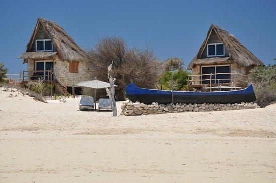 Anakao Ocean Lodge: Bungalows