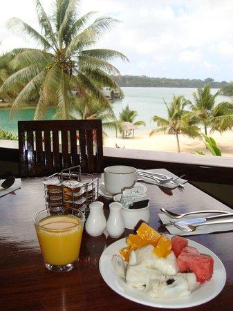 Holiday Inn Resort Vanuatu : From Restaurant