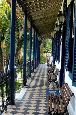 Hotel Fazenda Villa-Forte : foto da varanda do hotel