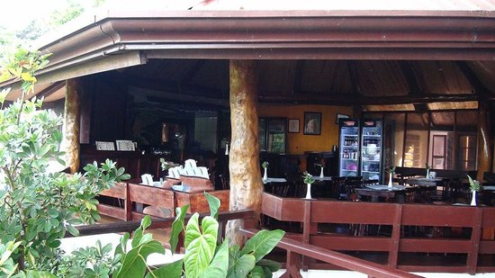 Adventure Park and Hotel Vista Golfo : The restaurant