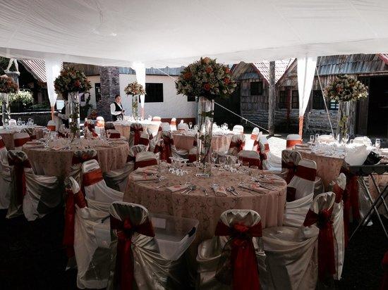 Hotel Chalet Tirol : Excelente lugar para una boda..