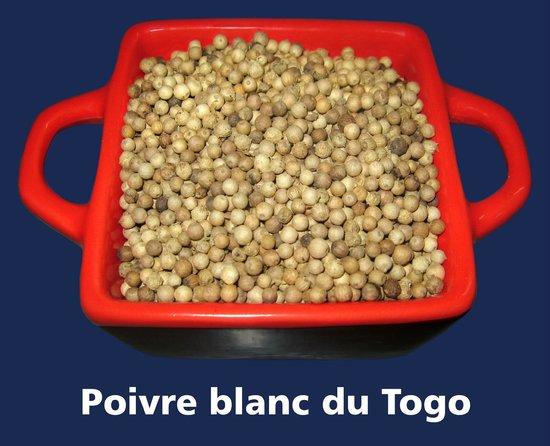 Restaurant Cote Sud: Poivre blanc du Togo...