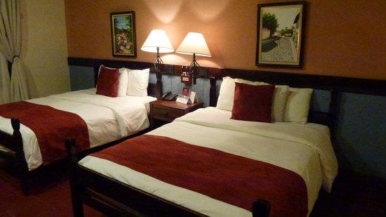 Hotel Marina Copan: Notre chambre