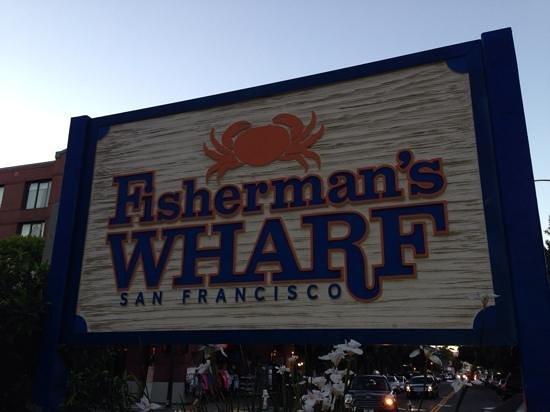 Fisherman's Wharf: fisher show!!